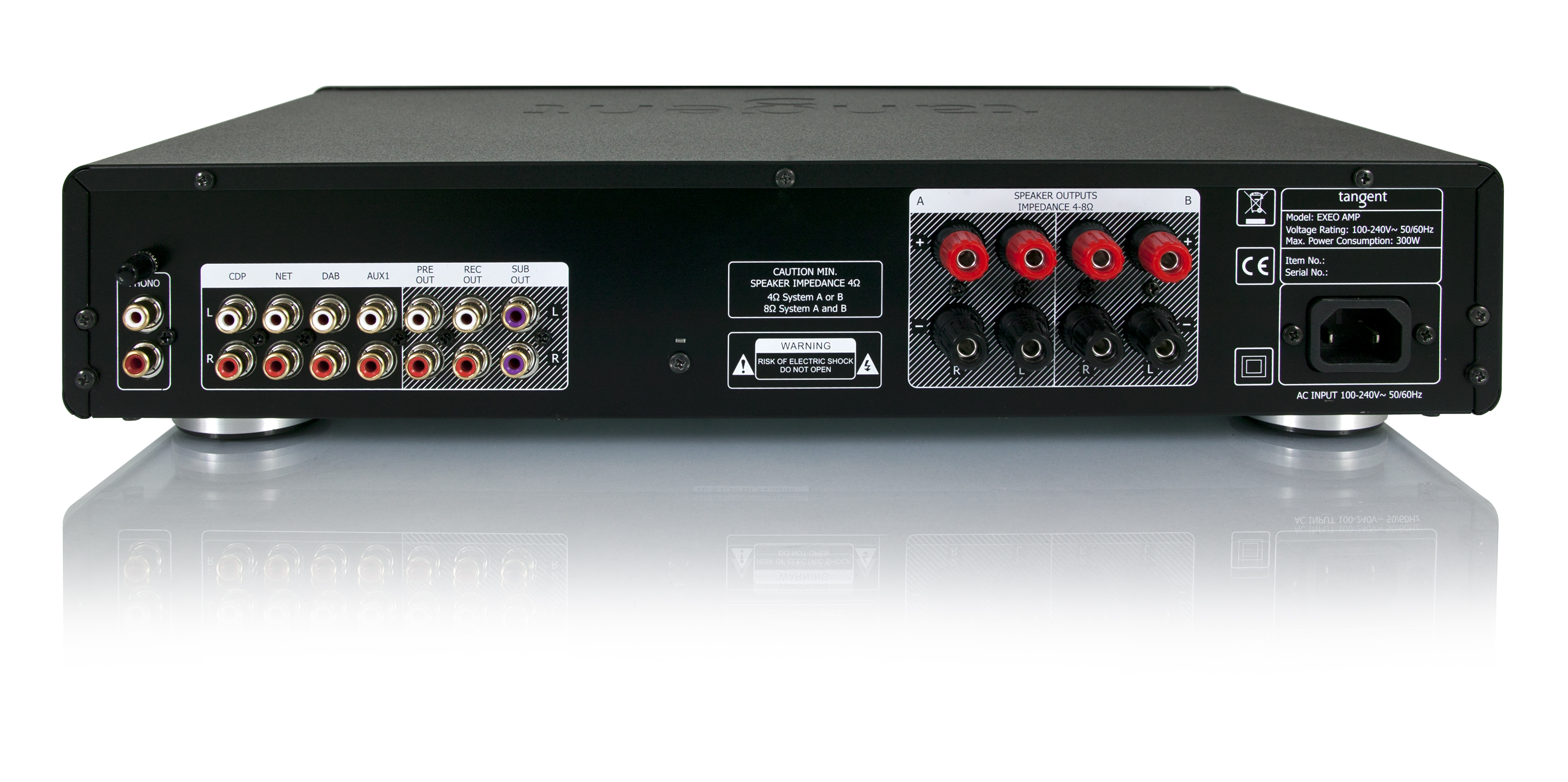 Amplificador tangent amp-100   gale gold - YouTube