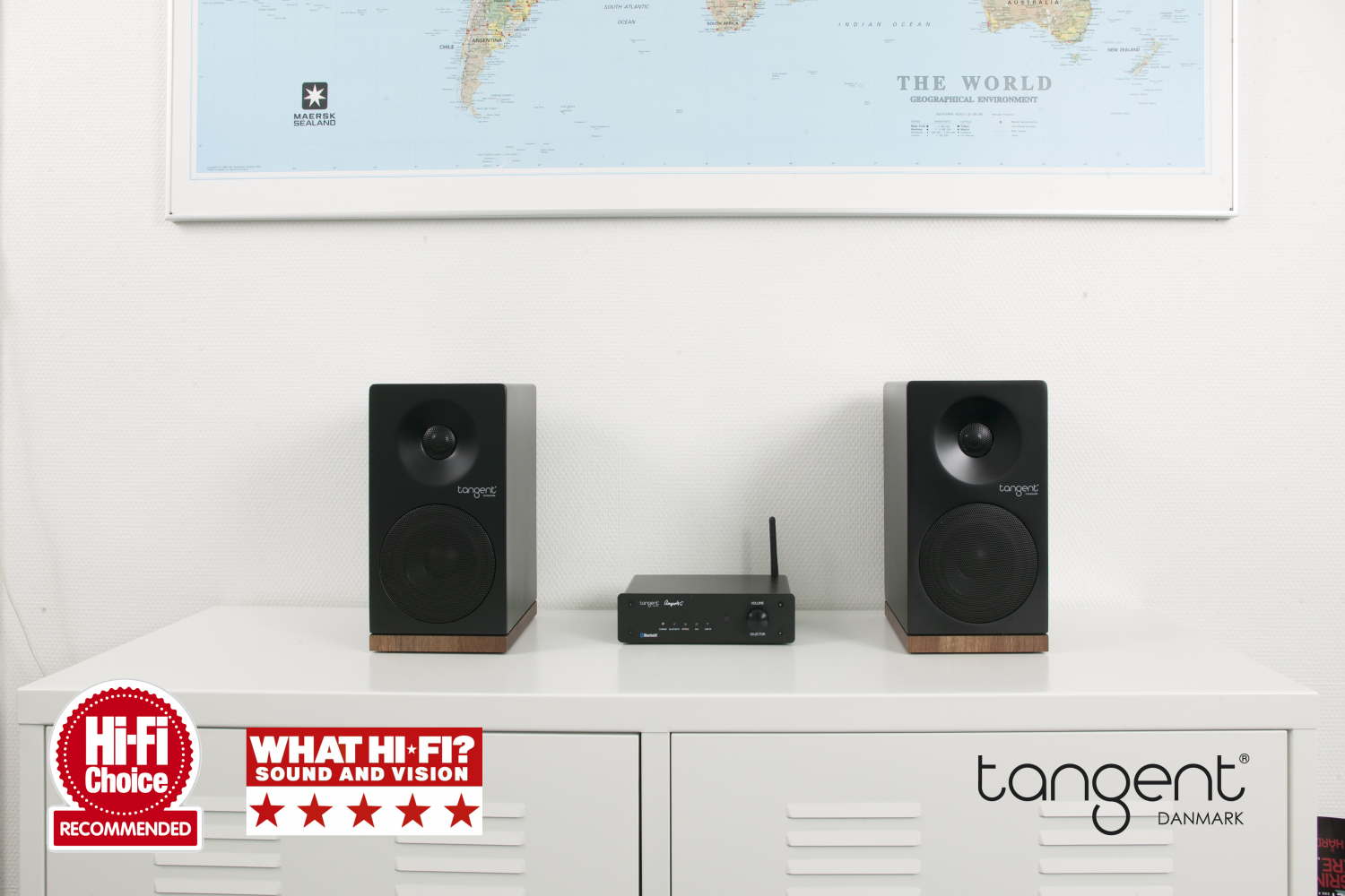 Tangent Ampster X4 Micro System Black Hifi Systems A S Loudspeaker Protection With Soft Start
